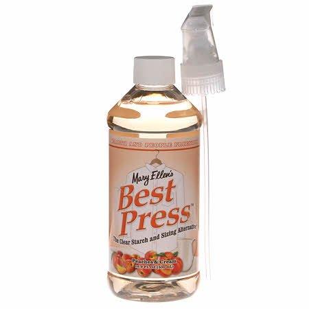 Best Press Spray Starch Peaches & Cream 16.9 oz