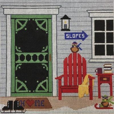 AL0166 - SKI HOUSE PORCH W/SG