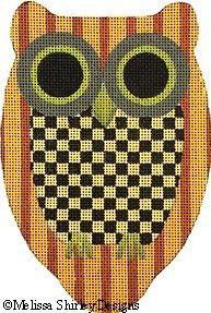 2032C - CHECKERBOARD OWL