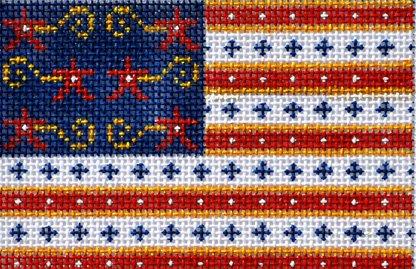 CH114 - PATRIOTIC FLAG