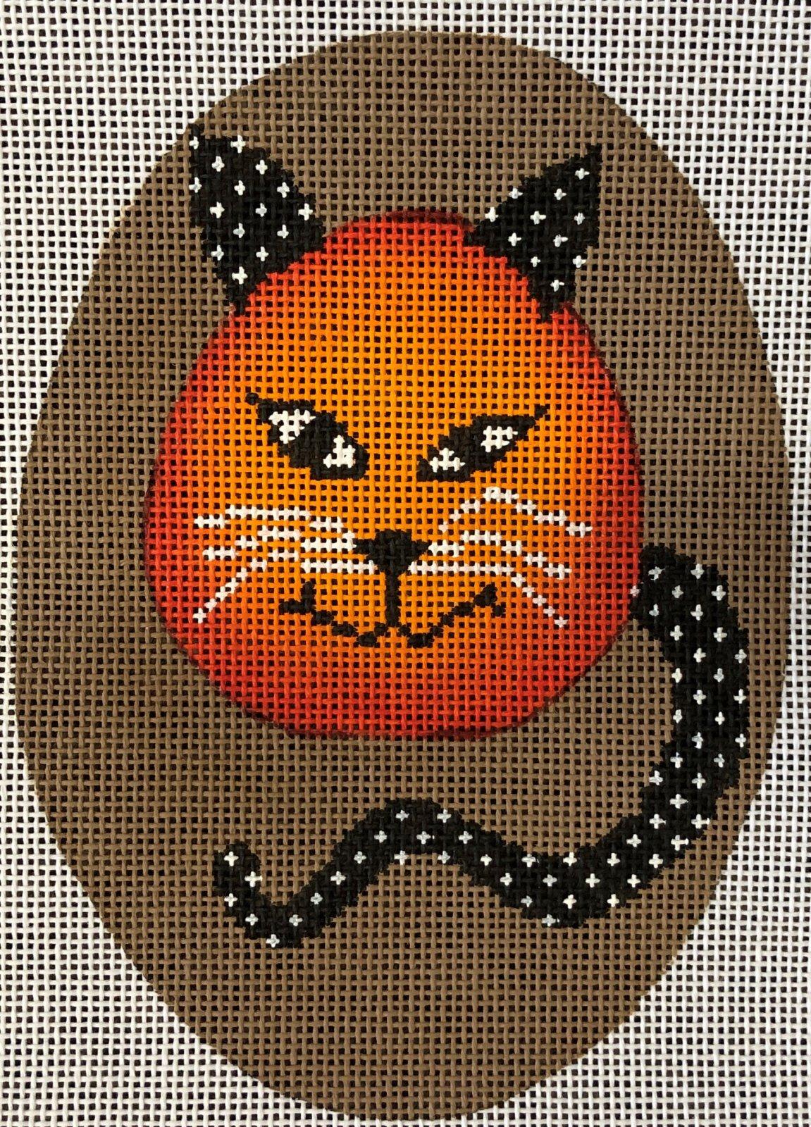 DTK9E - CAT HALLOWEEN ORN