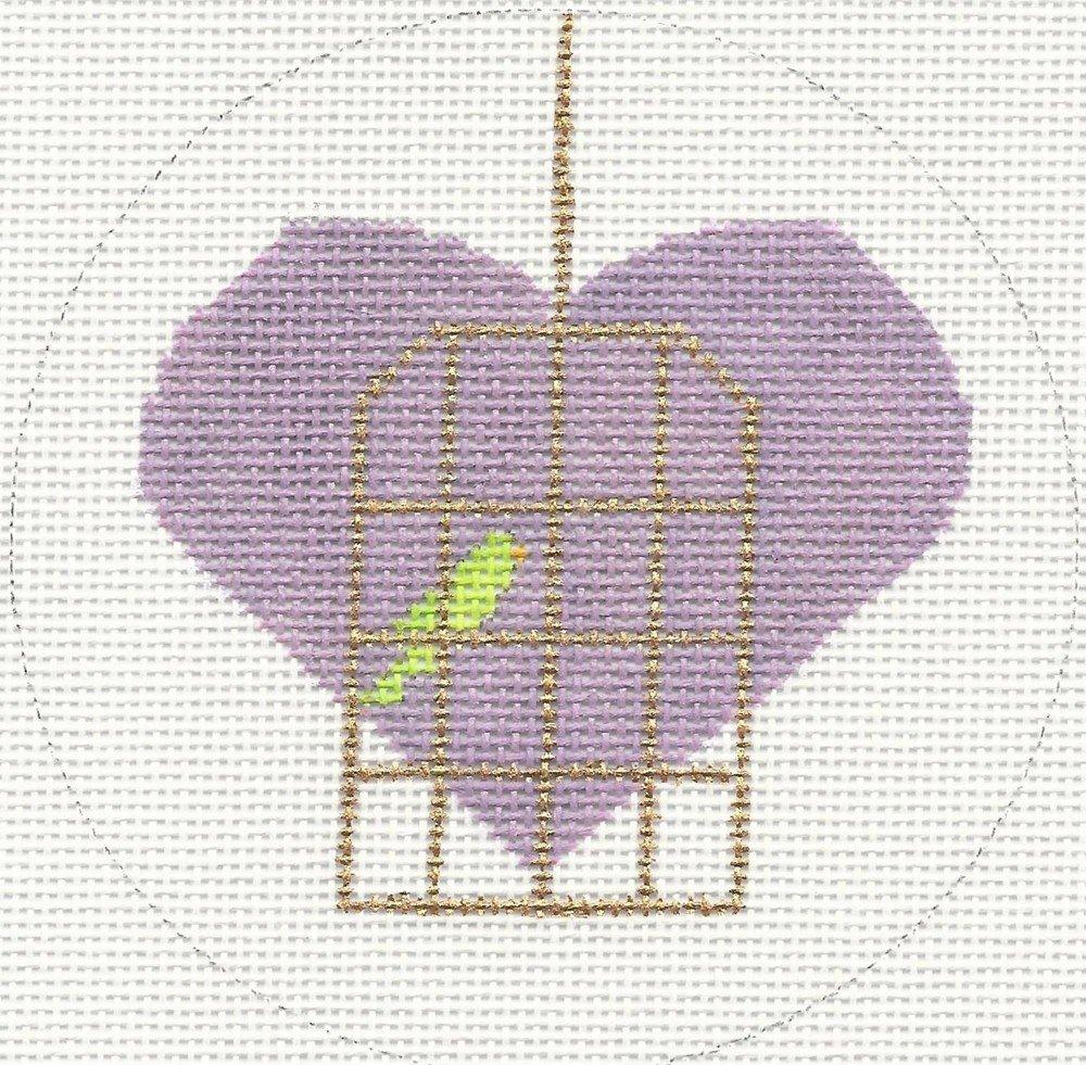 H114 - BIRDCAGE HEART