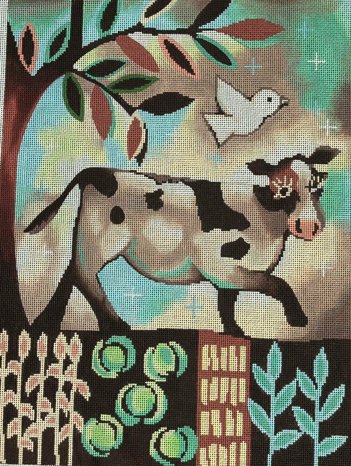 KS1 - COW IN GARDEN