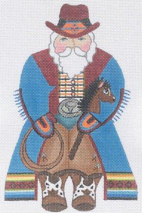 KS11 - COWBOY SANTA