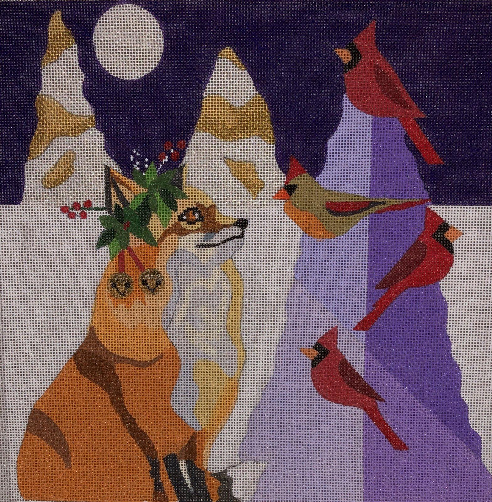H263 - FOX & CARDINALS