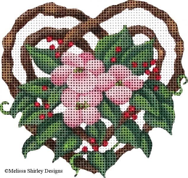 2215A - TWIG FLOWER HEART