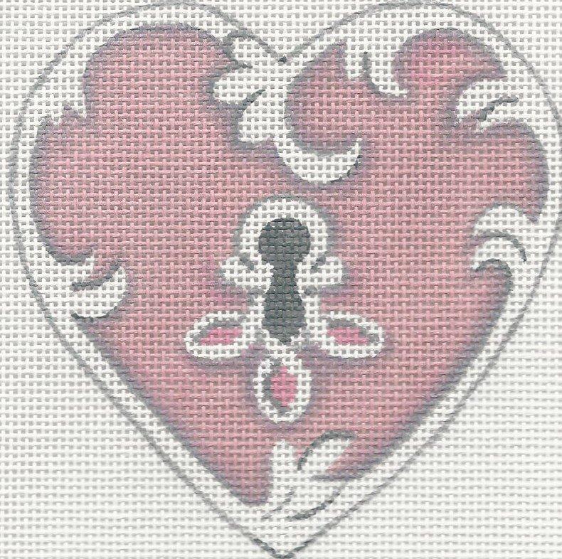 HT28 - PINK HEART LOCK