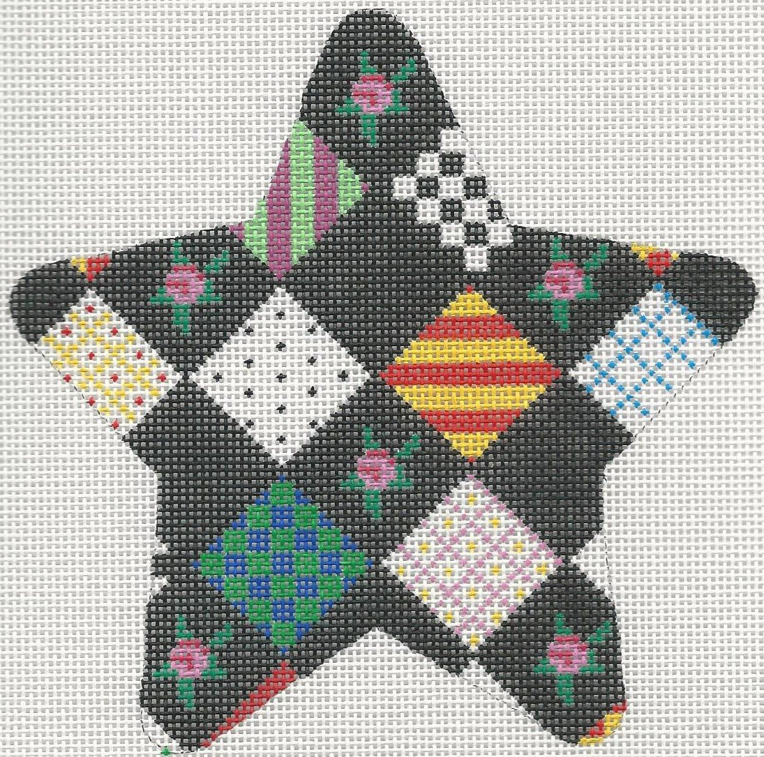 LFOR914 - PATCHWORK STAR