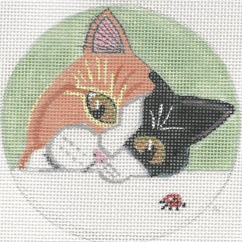 RYAN8522 - CAT & LADYBUG