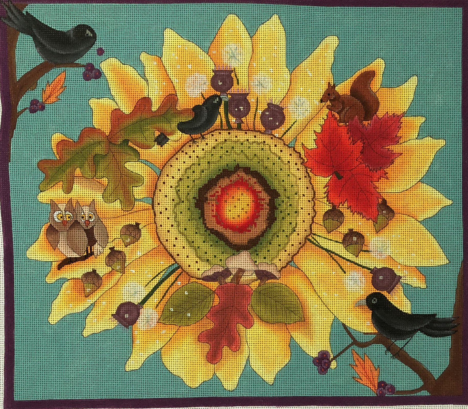 FG112 - SUNFLOWER WITH CRITTERS