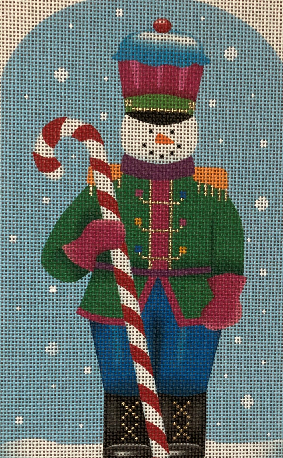 SN51 - CANDY CANE SNOWMAN SENTRY
