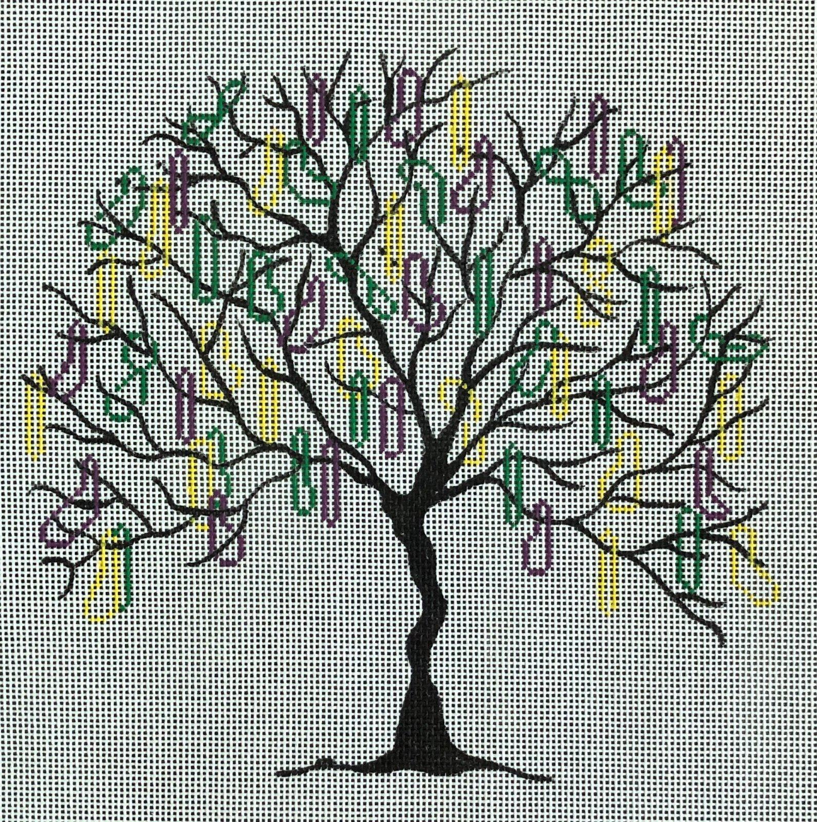 V64 - MARDI GRAS TREE
