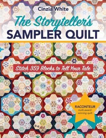 Book Cinzia White - The Storyteller Sampler Quilt