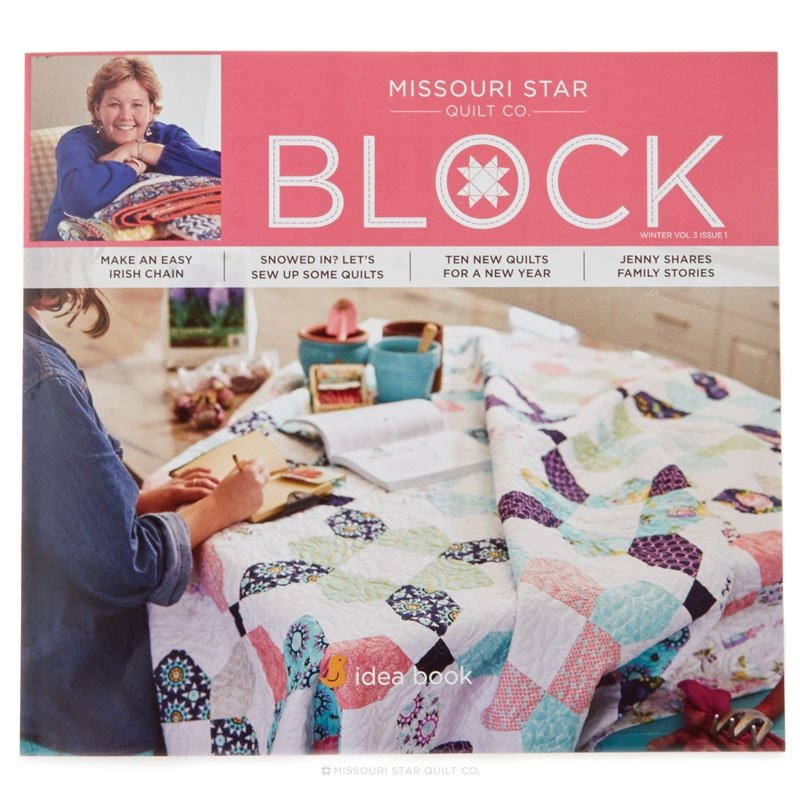 Missouri Star Block Magazine Winter 2016 Vol 3 Issue 1