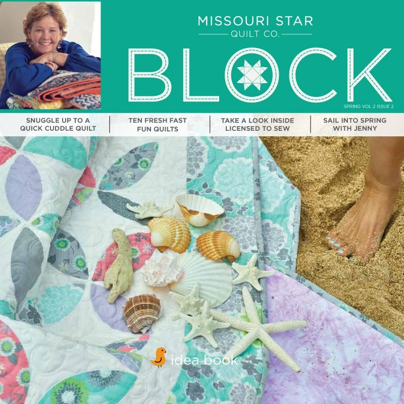 Missouri Star Block Magazine Spring 2015 Vol 2 Issue 2