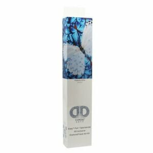 Diamond Dotz Intermediate15 x 15 Flutterby White