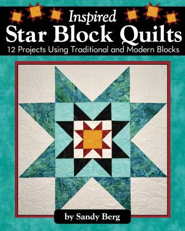 Book Sandy Berg - Inspired Star Block Quilts