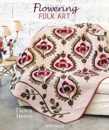 Book Dawn Heese - Flowering Folk Art