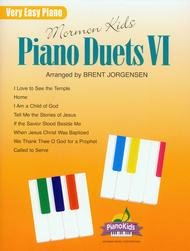 MORMON KIDS PIANO DUETS 6 JORGENSEN EP LDS (00058 ) (Sacred Piano Duet Folios )