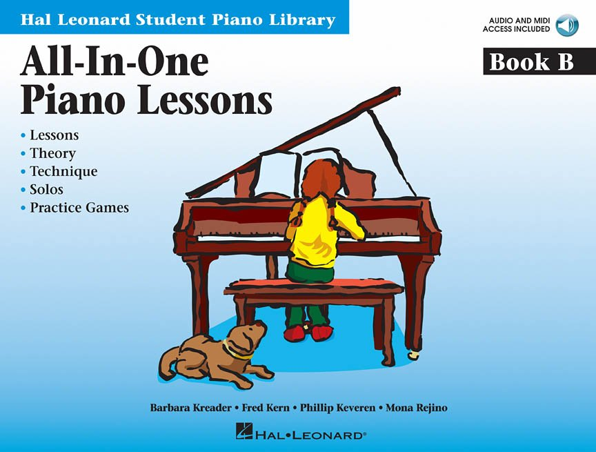 LEONARD STUDENT PIANO LIBRARY ALL IN ONE PIANO LESSONS B KRE (00296776 ) (Piano Methods )