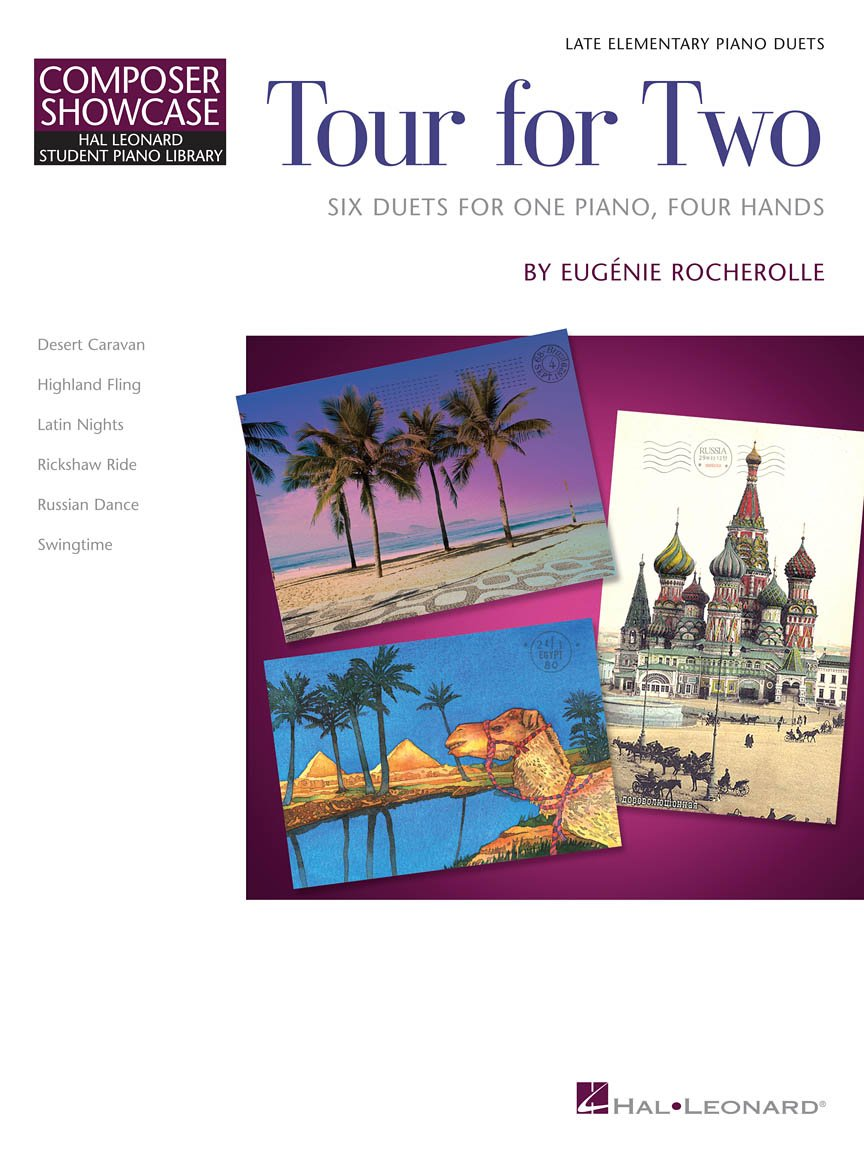 TOUR FOR TWO ROCHEROLLE EP FED24 FED16 (00296832 ) (Piano Duet Books )