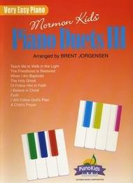 MORMON KIDS PIANO DUETS 3 JORGENSEN LDS (01664 ) (Sacred Piano Duet Folios )