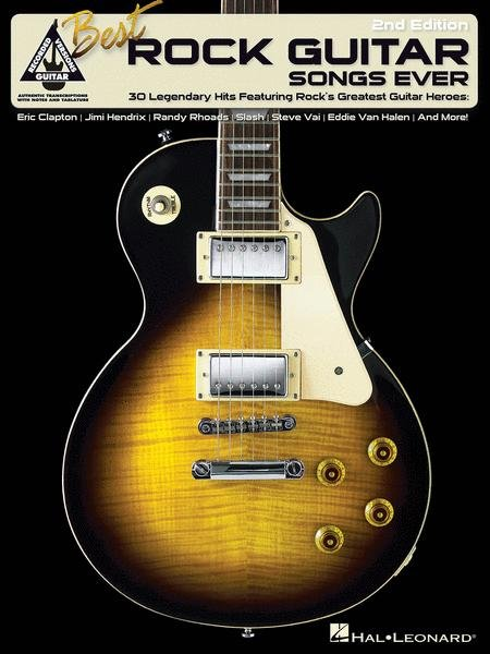 BEST ROCK GUITAR SONGS EVER 2ND EDITION TAB RECV (00690407 ) (Guitar Folios )