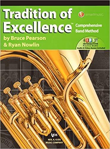 TRADITION OF EXCELLENCE 3 BARITONE / EUPHONIUM BC PEARSON NO