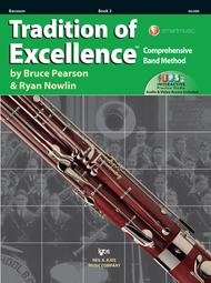 TRADITION OF EXCELLENCE 3 BASSOON PEARSON NOWLIN ONLNE
