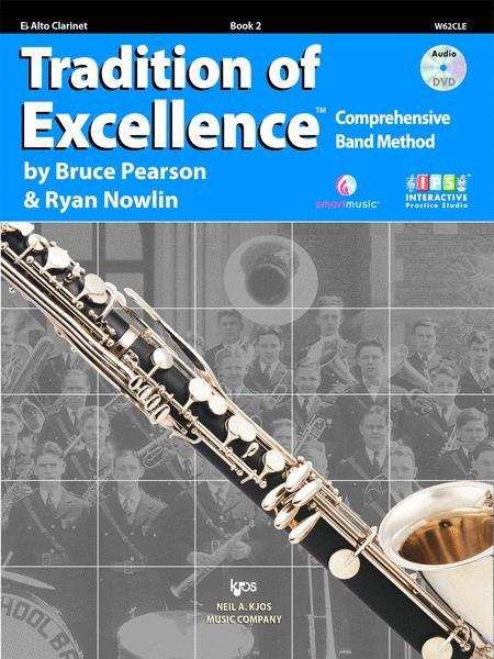 TRADITION OF EXCELLENCE 2 CLARINET ALTO PEARSON NOWLIN BKDVD
