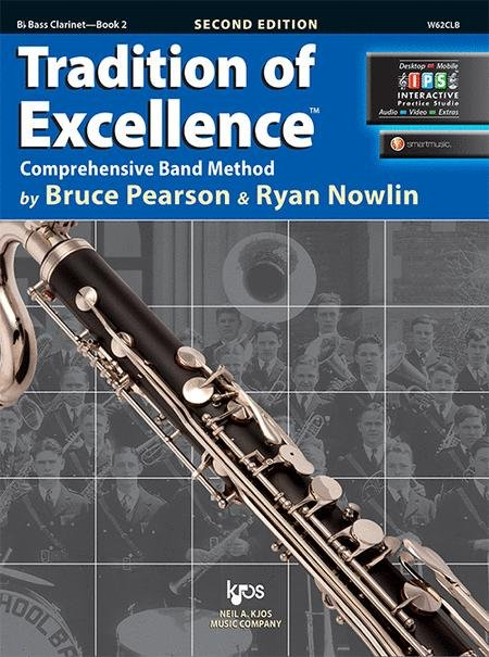 TRADITION OF EXCELLENCE 2 CLARINET BASS 2ND EDITION PEARSON