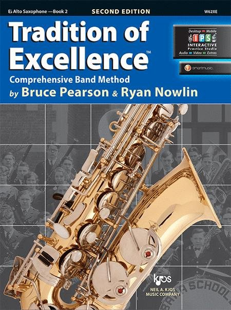 TRADITION OF EXCELLENCE 2 SAXOPHONE ALTO 2ND EDITION PEARSON