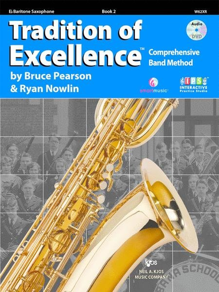 TRADITION OF EXCELLENCE 2 SAXOPHONE BARITONE SECOND EDITION