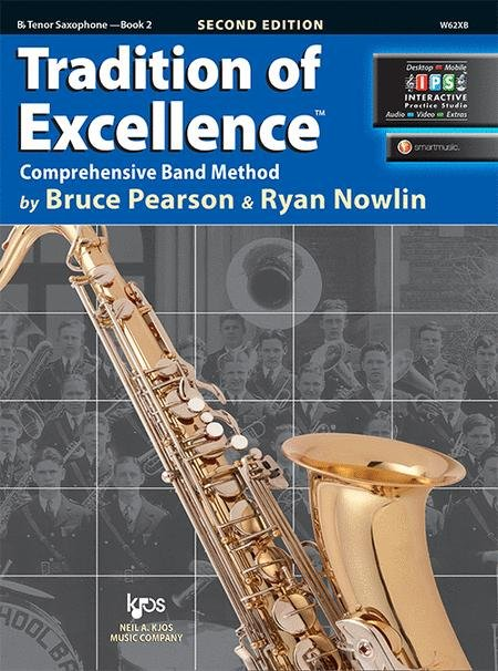 TRADITION OF EXCELLENCE 2 SAXOPHONE TENOR BB 2ND EDITION PEA
