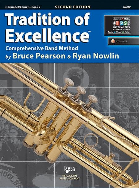 TRADITION OF EXCELLENCE 2 TRUMPET / CORNET 2ND EDITION PEARS