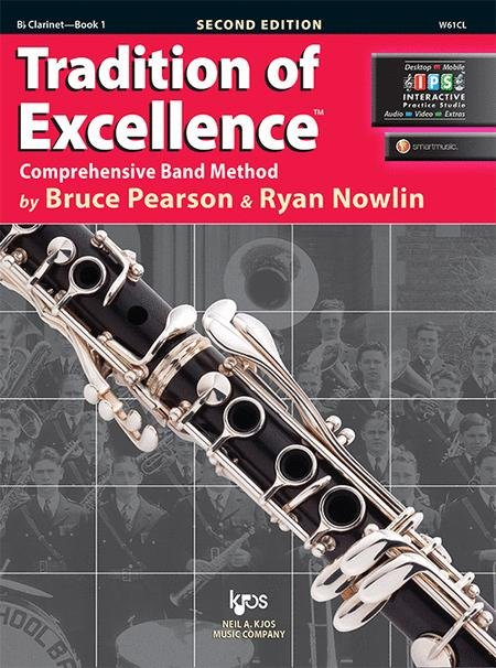 TRADITION OF EXCELLENCE 1 CLARINET BB 2ND EDITION PARSON NOW