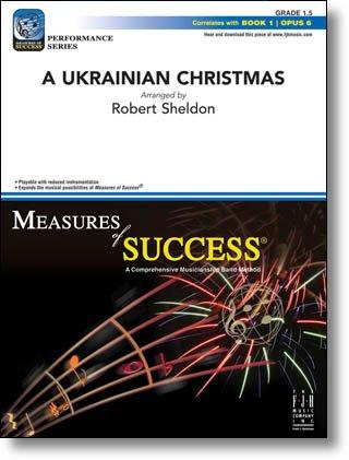 UKRAINIAN CHRISTMAS SCORE & PARTS SHELDON