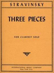 3 PIECES STRAVINSKY (2453 ) (Piano Folios )