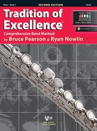 TRADITION OF EXCELLENCE 1 FLUTE 2ND EDITION PEARSON NOWLIN O