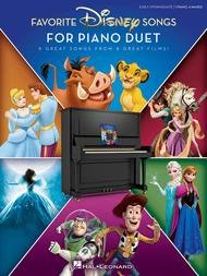 DISNEY FAVORITE SONGS FOR PIANO DUETS BDMTV (00285563 ) (Piano Duet Books )