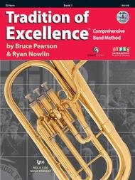 TRADITION OF EXCELLENCE 1 HORN IN EB PEARSON NOWLIN BKDVD