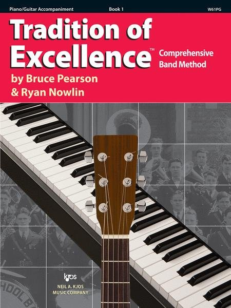 TRADITION OF EXCELLENCE 1 PIANO / GUITAR ACCOMPANIMENT PEARS