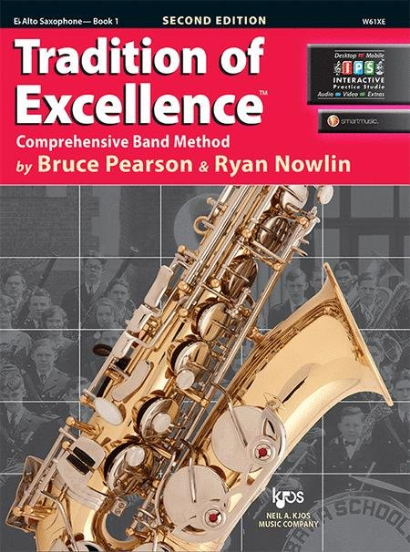 TRADITION OF EXCELLENCE 1 SAXOPHONE ALTO 2ND EDITION PEARSON