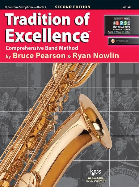 TRADITION OF EXCELLENCE 1 SAXOPHONE BARITONE EB 2ND EDITION
