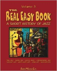 REAL EASY BOOK 3 BASS EDITION SHORT HISTORY OF JAZZ (169 ) (Fakebooks )