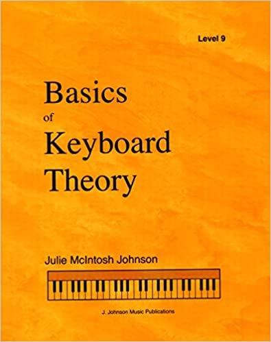 BASICS OF KEYBOARD THEORY 9 MCINTOSH JOHNSON (9781891757099 ) (Piano Methods )