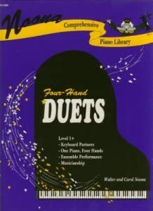 NOONA COMPREHENSIVE PIANO LIBRARY 1+ 4 HAND DUETS NOONA FED1 (701230H ) (Piano Duet Books )
