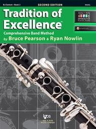 TRADITION OF EXCELLENCE 3 CLARINET 2ND EDITION PEARSON NOWLI