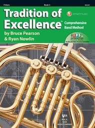 TRADITION OF EXCELLENCE 3 HORN IN F PEARSON NOWLIN
