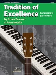 TRADITION OF EXCELLENCE 3 PIANO / GUITAR ACCOMPANIMENT PEARS